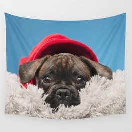 Sulky puppy Wall Tapestry