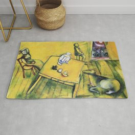 Marc Chagall The Yellow Room Rug
