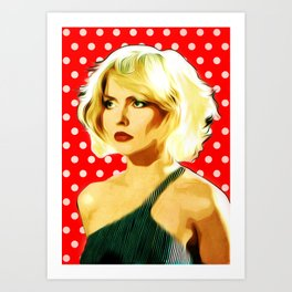 Blondie - Debbie Harry - Pop Art Art Print