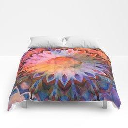 Autumn Rainbow Kaleidoscope Comforters