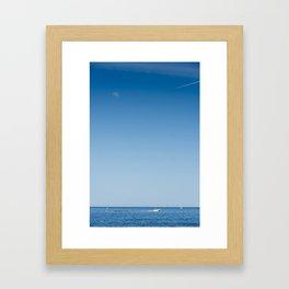 Scarborough Bluffs Framed Art Print