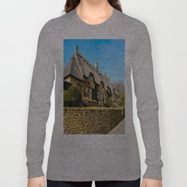 Cotswold Cottages  Long Sleeve T-shirt