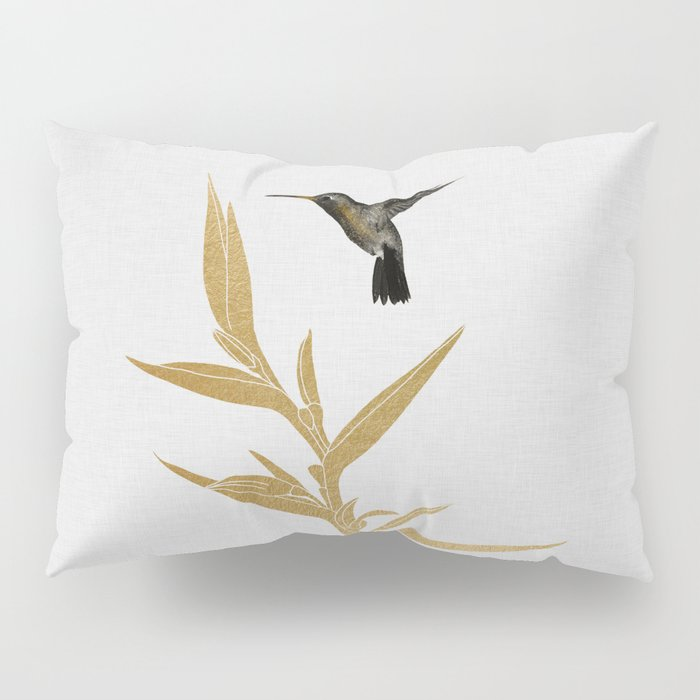 Hummingbird & Flower II Pillow Sham