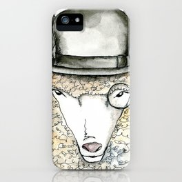 Jeeves iPhone Case