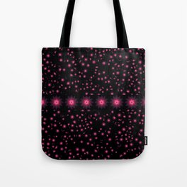 Abstract purple flower 08 Tote Bag
