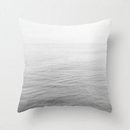 Malibu B&W Throw Pillow