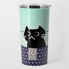cat 436 Travel Mug