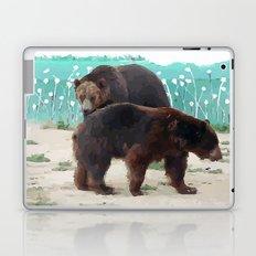 Bear couple Laptop & iPad Skin
