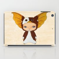 gizmo iPad Cases featuring A Boy - Gizmo by Christophe Chiozzi