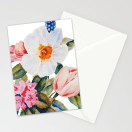Loose Spring Bouquet Stationery Cards