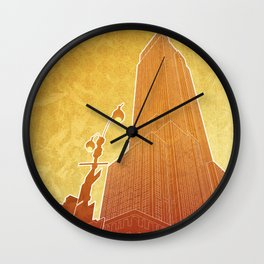 New Empire City Wall Clock