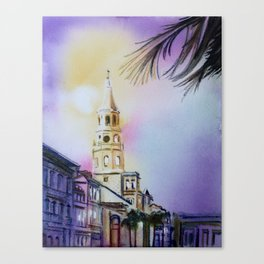 Charleston 1 Canvas Print