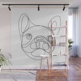 Chaca the Frenchie Wall Mural