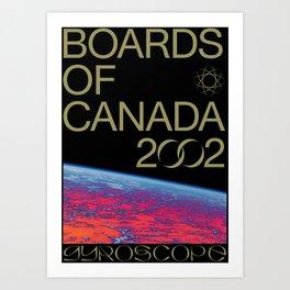 BOARDS OF CANADA - GYROSCOPE Art Print