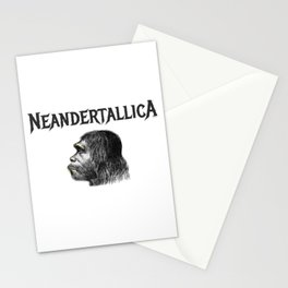 Neandertallica Stationery Cards