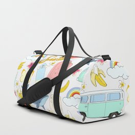 vsco girl - sticker like pattern Duffle Bag