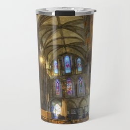Rochester Cathedral Art Travel Mug