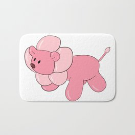 Balloon Animal Lion Bath Mat