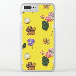 Yellowness Clear iPhone Case