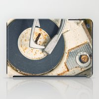 record iPad Cases featuring Record Player by Shaun Lowe