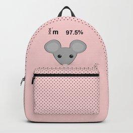 I'm 97.5% mice Backpack