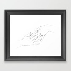 Untitled Hands No. 5 Framed Art Print