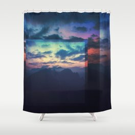 Fractions C04 Shower Curtain