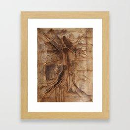 Shroud of the True Oak Framed Art Print