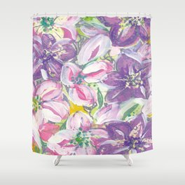 A Hellebore By Any Other Name Shower Curtain