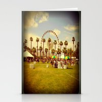 coachella Stationery Cards featuring Coachella by Jason Chase