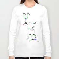 lsd Long Sleeve T-shirts featuring LSD by TLineInc