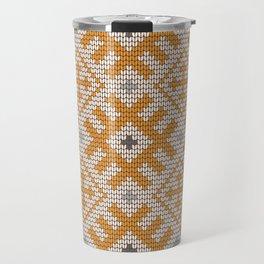 Pattern in Grandma Style #27 Travel Mug