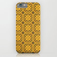 Lacey Pattern, Gold/Sand Slim Case iPhone 6s