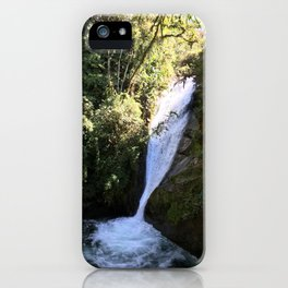 Talamanca Waterfalls iPhone Case