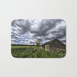 Green Stones Countryside Farm House Bath Mat