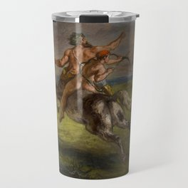 "Eugène Delacroix ""The Education of Achilles"" Travel Mug"