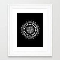 introvert Framed Art Prints featuring The Introvert by JWRIGGS