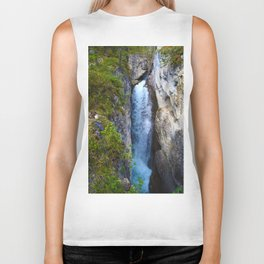 Stanley Waterfall & Beauty Creek, Jasper National Park Biker Tank