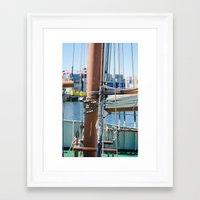 boat Framed Art Prints featuring Boat by Sébastien BOUVIER