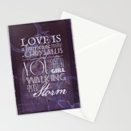 Butterfly Metamorphosis (Invert) Stationery Cards