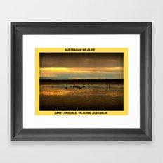 Lake Lonsdale Framed Art Print