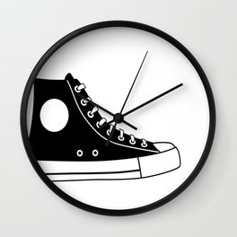 Religious Walk By Faith Sneaker Wall Clock