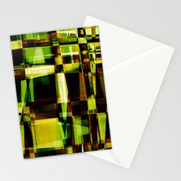 Abstract Achitecture Stationery Cards