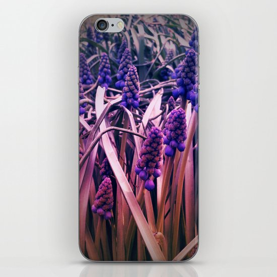 Strange flowers iPhone & iPod Skin