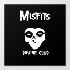 The Bovine Club Canvas Print