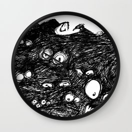 Monster Eyes: Nightmares Are REAL Wall Clock