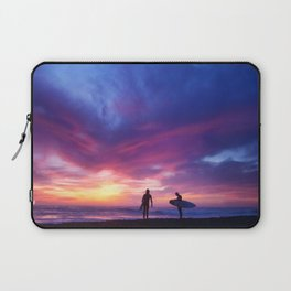 Surfer's Sunset Laptop Sleeve