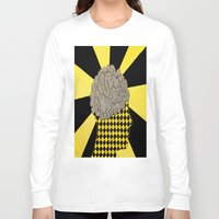 brain Long Sleeve T-shirts featuring Brain by Art By Carob