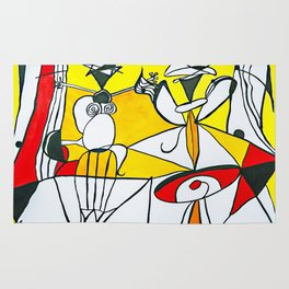 Sunny Abstract #1 Rug
