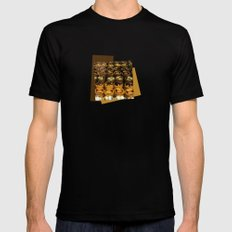 turkish sweets Mens Fitted Tee Black MEDIUM
